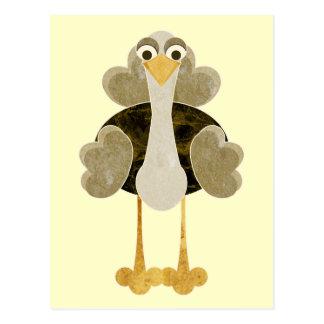 Otto the Ostrich Postcard