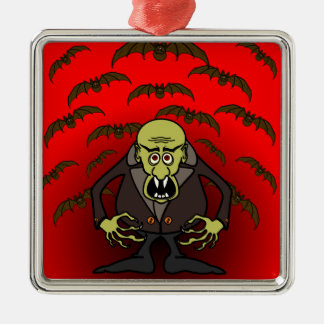 Otto Vampyr Metal Ornament