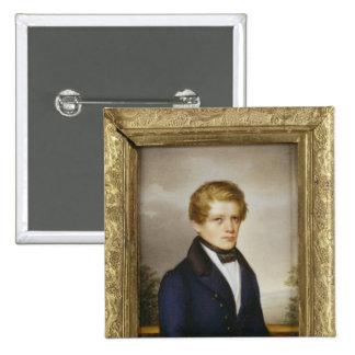 Otto von Bismarck as a Student, 1833 Button