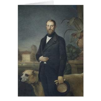 Otto von Bismarck, c.1850 Greeting Card
