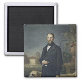 Otto von Bismarck, c.1850 Iman De Frigorífico