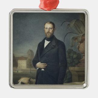 Otto von Bismarck, c.1850 Metal Ornament