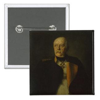 Otto von Bismarck, c.1890 2 Inch Square Button