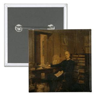 Otto von Bismarck in his Study Button