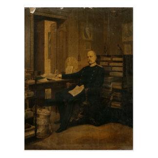 Otto von Bismarck in his Study Postcard