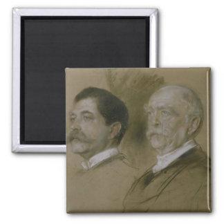 Otto von Bismarck y su hijo Herberto Imán Cuadrado