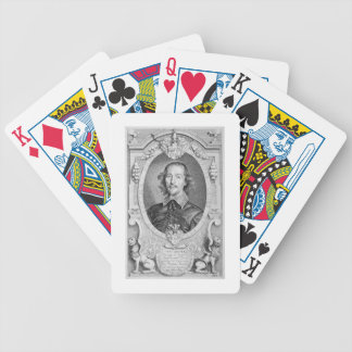 Otto von Guericke (1602-86) from 'Portraits des Ho Bicycle Playing Cards