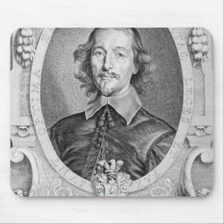 Otto von Guericke (1602-86) from 'Portraits des Ho Mouse Pad
