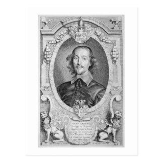 Otto von Guericke (1602-86) from 'Portraits des Ho Postcard