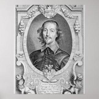 Otto von Guericke (1602-86) from 'Portraits des Ho Poster