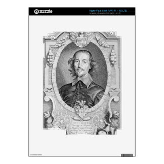 Otto von Guericke (1602-86) from 'Portraits des Ho Skins For iPad 3