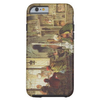 Ottoman Coffee House 1862 colour litho iPhone 6 Case