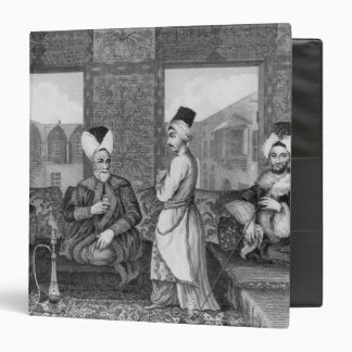 Ottoman Dignitaries 3 Ring Binder