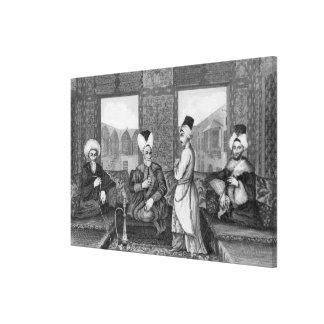 Ottoman Dignitaries Canvas Print