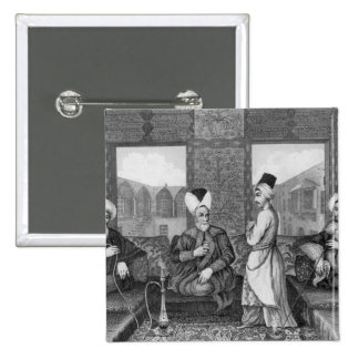 Ottoman Dignitaries Pinback Button