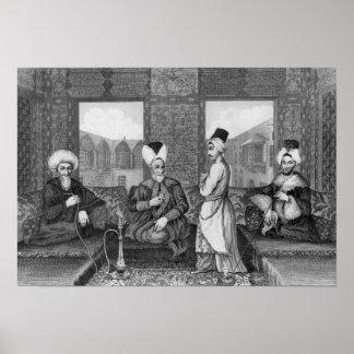 Ottoman Dignitaries Poster