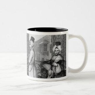 Ottoman Dignitaries Two-Tone Coffee Mug
