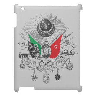 Ottoman Empire Grayscale Coat Of Arms iPad Case