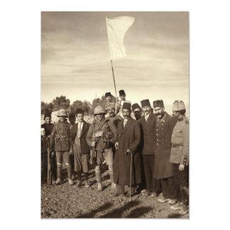 Ottoman Empire Surrender of Jerusalem 1917 Personalized Invitation