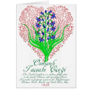 Ottoman Fritillaria Card