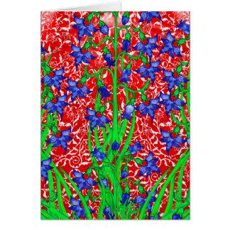 Ottoman Fritillarias Card