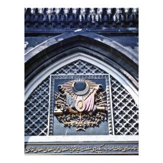 "Ottoman Insignia, Grand Bazaar - Istanbul 8.5"" X 11"" Flyer"