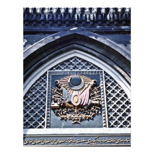 Ottoman Insignia, Grand Bazaar - Istanbul Personalized Flyer