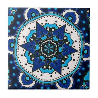 Ottoman  Islamic Tile Design With Geometry