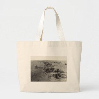 Ottoman Machine Gun Corps Tell el Sheria Gaza Line Large Tote Bag