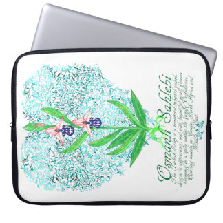 Ottoman Orchid Laptop-Sleeve Computer Sleeves
