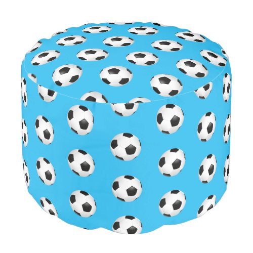Ottoman Pouf-Soccer Ball