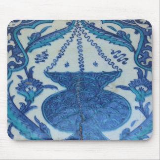 Ottoman Tile old Turkish lamp design Mouse Pad
