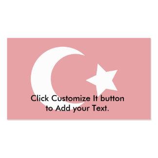 Ottoman, Turkey flag Business Card Template