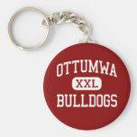Ottumwa - Bulldogs - High School - Ottumwa Iowa Key Chains