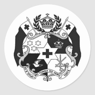 Otua MES Tonga Productionz Pegatina Redonda