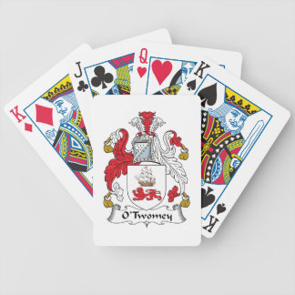 O'Twomey Family Crest Bicycle Poker Deck