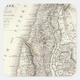 Ou Terre Sainte - la Tierra Santa de Palestina Pegatina Cuadrada