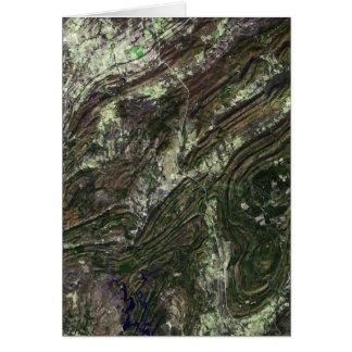 Ouachita Mountains Card