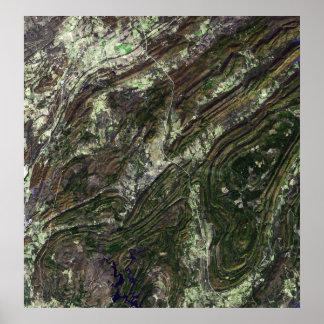 Ouachita Mountains Poster