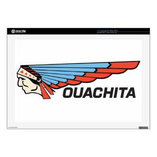 """Ouachita River 17"""" Laptop Decal"""