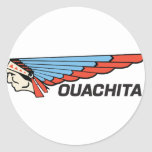 Ouachita River Classic Round Sticker