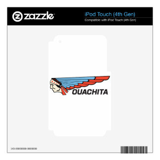 Ouachita River Decals For iPod Touch 4G