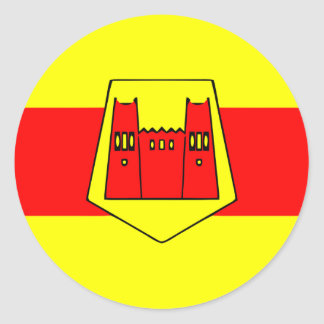 Ouarzazate, Morocco Classic Round Sticker
