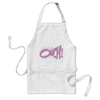 OUCH! ADULT APRON