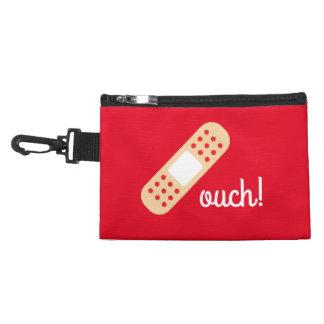 Ouch bolsa - bolso de los primeros auxilios - rojo