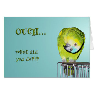 Ouch! Greeting Card