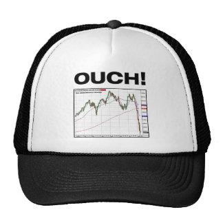 ¡OUCH! Carta media industrial 8/11 de Dow Jones Gorro De Camionero