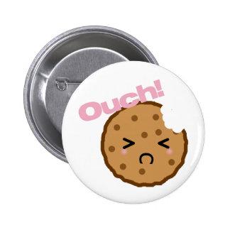 ¡ Ouch dice la galleta de Kawaii Pin