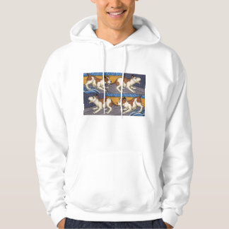 OUCH! dog bites dog Hoodie