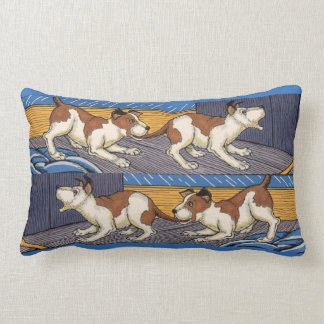 OUCH! dog bites dog Pillow